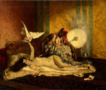 Odalisque Mid-1870s | Roybet Ferdinand | oil painting