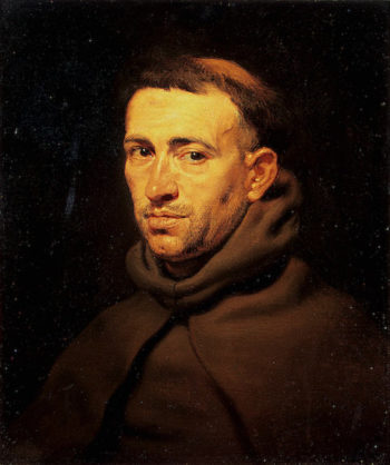 Head of a Franciscan Monk 1615-1617 | Rubens Pieter Paul | oil painting