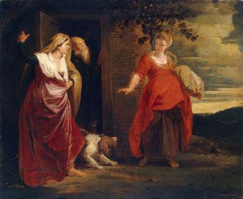 Hagar Leaves the House of Abraham 1615-1617 | Rubens Pieter Paul | oil painting