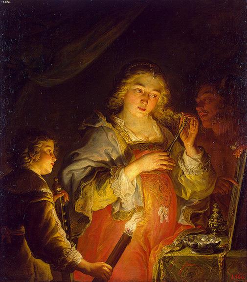 Allegory of Vanity 1642 | Sandrart Joachim von | oil painting