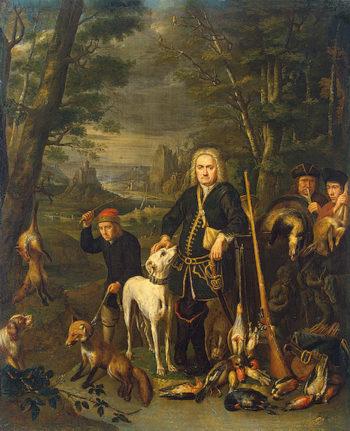 Autumn 1730s   Sneyers Peeter   oil painting