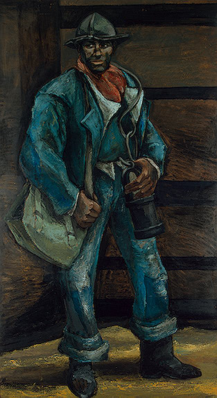 A Miner 1955 | Somville Roger | oil painting