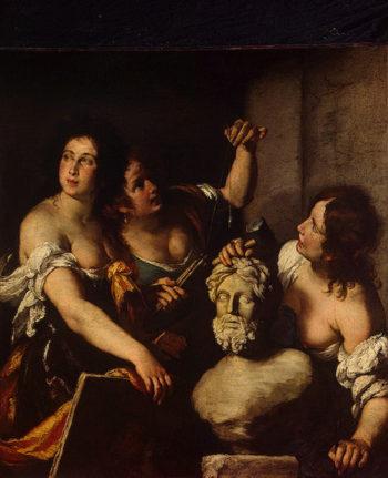 Allegory of the Arts 1640 | Strozzi Bernardo (Il Prete Genovese) | oil painting