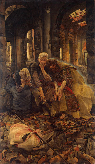 Inner Voices (Christ Consoling the Wanderers) 1885 | Tissot James | oil painting