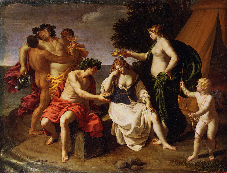 Bacchus and Ariadne Early 1630s | Turchi Alessandro (Alessandro Veronese or Orbetto) | oil painting