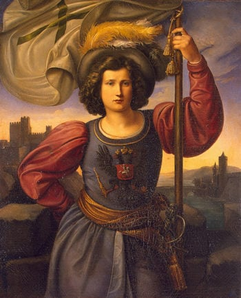 Allegory of Russia 1840s | Veit Philipp | oil painting
