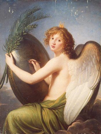 Genius of AlexanderI 1814   Vigee Le Brun-Elisabeth-Louise   oil painting