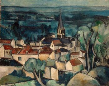 Bougival 1909 | Vlaminck Maurice de | oil painting