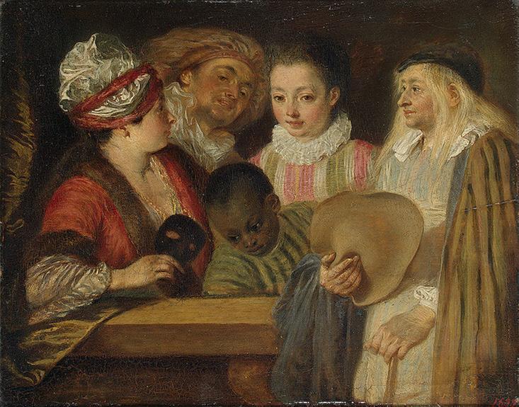 Actors of the Comedie-Francaise 1711-1712 | Watteau Antoine | oil painting