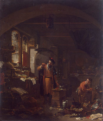 An Alchemist Between 1616 and 1677 | Wyck Thomas | oil painting