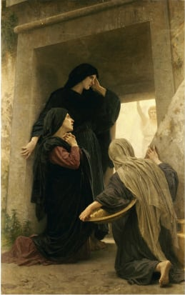 Three Marys at the Tomb | William Bouguereau | oil painting