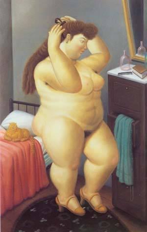 Venus 1989 | Fernando Botero | oil painting