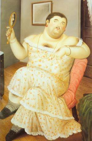 Melancholia 1989 | Fernando Botero | oil painting
