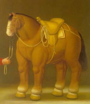 Horse 1992 | Fernando Botero | oil painting