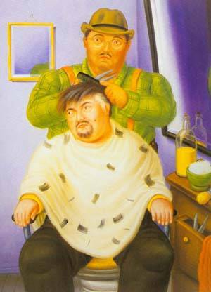 Self-Portrait 1994 | Fernando Botero | oil painting