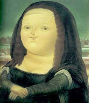Mona Lisa 1978 | Fernando Botero | oil painting