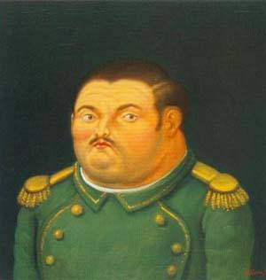 General 1996 | Fernando Botero | oil painting