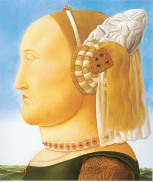 After Piero Della Francesca 1998- | Fernando Botero | oil painting