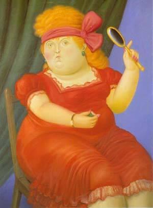 Venus 1990 | Fernando Botero | oil painting