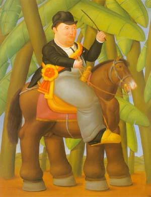 The President And First Lady 1989 | Fernando Botero | oil painting