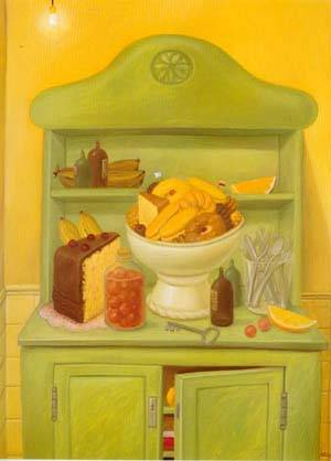 The Buffet 1993 | Fernando Botero | oil painting