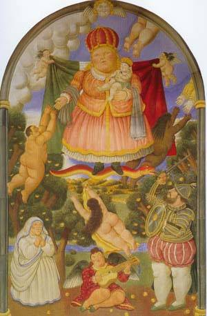 Gate Of Heaven 1993 | Fernando Botero | oil painting