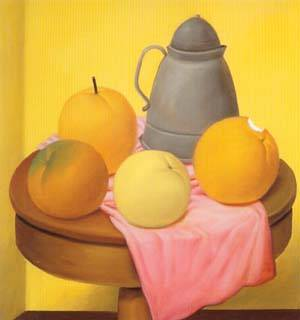 Still Life 1994 | Fernando Botero | oil painting