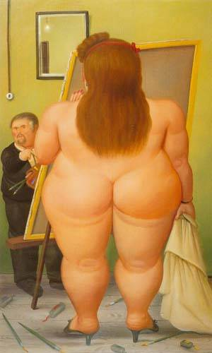 The Atelier 1990 | Fernando Botero | oil painting