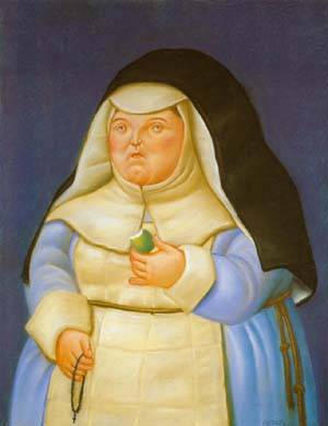 Mother Superior 1994 | Fernando Botero | oil painting