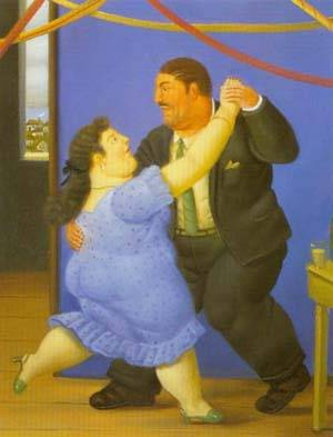 Dancers 1997 | Fernando Botero | oil painting