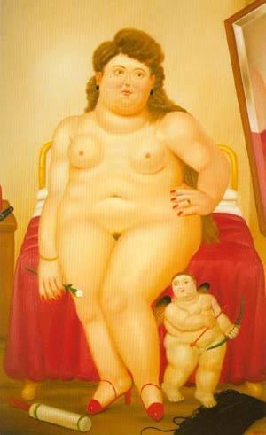 Venus 1982 | Fernando Botero | oil painting