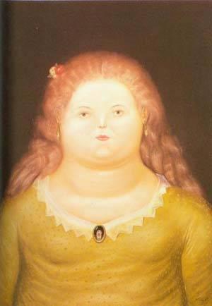 Delfina 1972 | Fernando Botero | oil painting