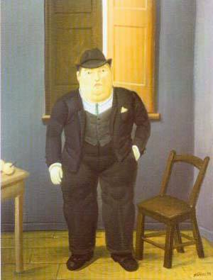 Man 1998 | Fernando Botero | oil painting