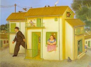 The House 1995- | Fernando Botero | oil painting