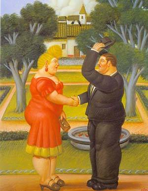 Good Morning 1996 | Fernando Botero | oil painting