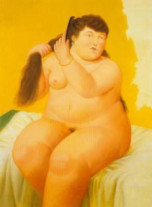 Woman 1996 | Fernando Botero | oil painting