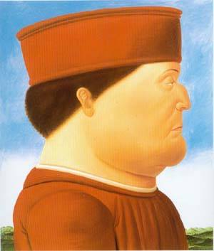 After Piero Della Francesca 1998 | Fernando Botero | oil painting