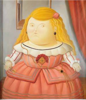 After Velazquez 1988 | Fernando Botero | oil painting