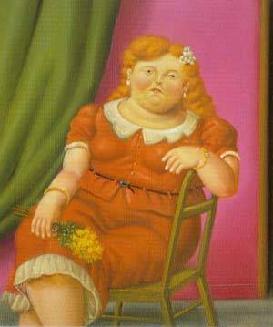 Woman Seated 1997 | Fernando Botero | oil painting