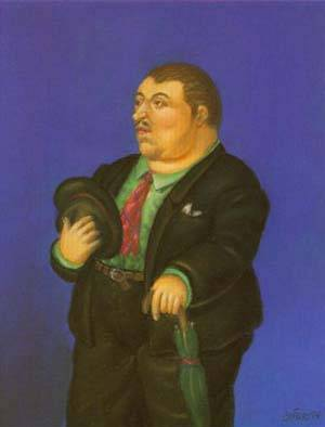 Man 1994 | Fernando Botero | oil painting