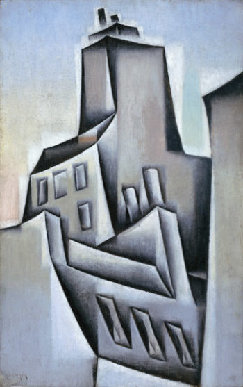 Houses in Paris | Juan Gris | oil painting