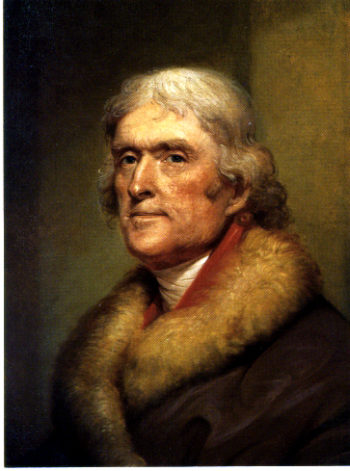 Thomas Jefferson | Rembrandt Peale | oil painting