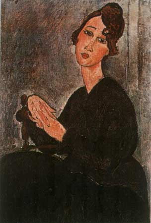 Madam Hayden | Amedeo Modigliani | oil painting