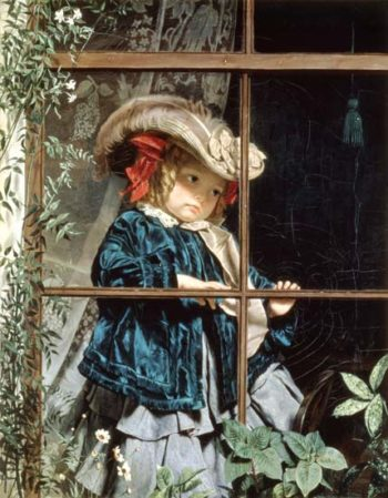 No Walk Today | Sophie Anderson | oil painting