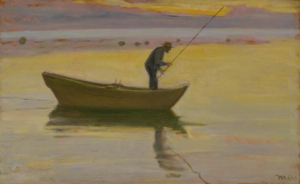 Aalestangeren | Michael Peter Ancher | oil painting