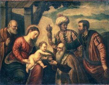 Adoration of the Kings   Veronese Bonifacio   oil painting