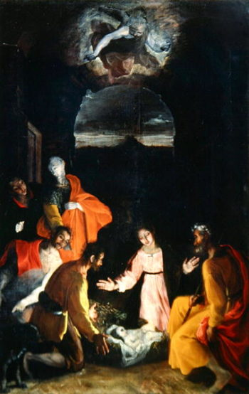 Adoration of the Shepherds 1590 | Federico Fiori Barocci or Baroccio | oil painting