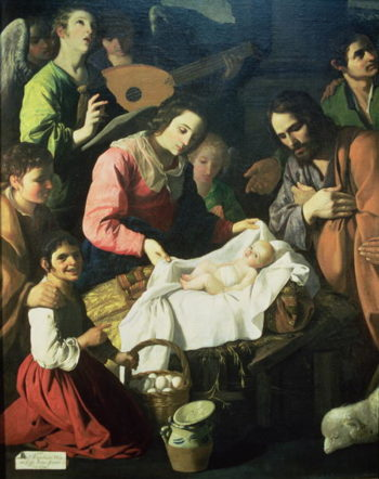 Adoration of the Shepherds 1638 | Francisco de Zurbaran | oil painting