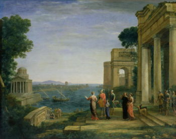 Aeneas and Dido in Carthage 1675 | Claude Lorrain | oil painting