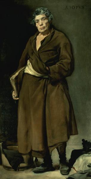 Aesop 1640 | Diego Rodriguez de Silva y Velasquez | oil painting